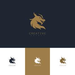 head dragon logo
