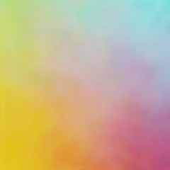 interesting uneven colorful background texture with blue yellow pink green colors blend