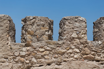 Fragment of the fortress wall