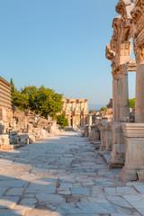 Photo sur Aluminium Pays d Europe Celsus Library in Ephesus, Turkey