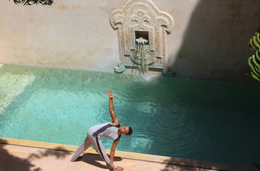 Yoga in Lamu