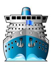 Ship, passenger ship, luxury liner