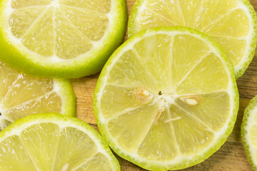 Lime is high in vitamin C vegetables fruit. fresh lemon lime citrus fruit slice