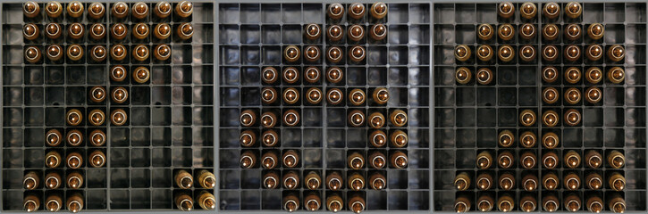 9mm round sign made set on an ammo tray - Buy this stock