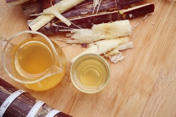 Cane juice with molasses