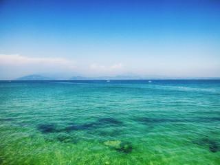 Sirmione au bord du Lac de Garde en Lombardie (Italie)
