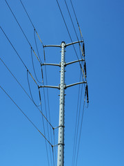 Power pole mast