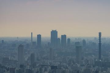 ガスっている東京