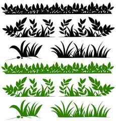 Doodles design for grasses