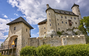 Castle in Bobolice (Poland)