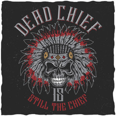 Dead Chief Poster