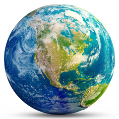 Wall Mural - Planet Earth - USA
