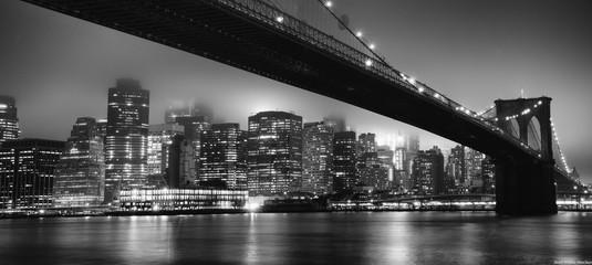 Skyline NYC - Brooklyn bridge