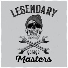 Legendary Garage Masters Poster