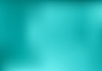 Blue turquoise blurred abstract background design graphic, vector