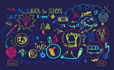 Vibrant colors School education sheme