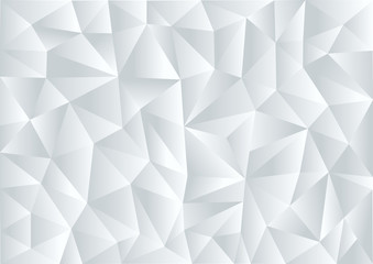 Gray background in style Low Poly, geometric background, vector illustration