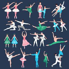 Ballet Dancers Set