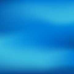 Vector blue blurred gradient style background. Abstract smooth colorful illustration, social media wallpaper.