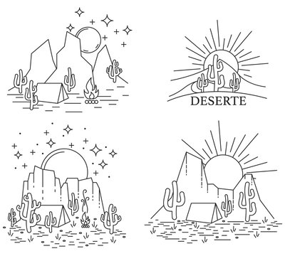Dayly and nightly desert