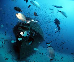 Tug Boat Rozi - Cirkewwa Dive Site - Malta