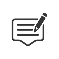 Write a Feedback Icon
