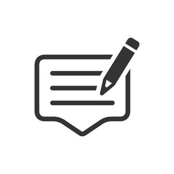 Write a Feedback Icon