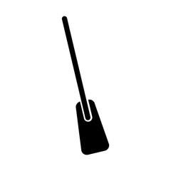 Wood rowing isolated icon vector illustration design