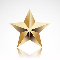 gold star elegant