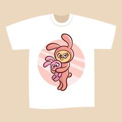 T-shirt Bunny Sweet dreams