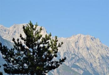 Berglandschaft in den Alpen
