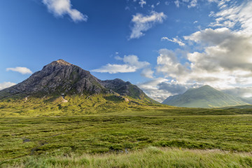 Roadside view of Glencoe.
