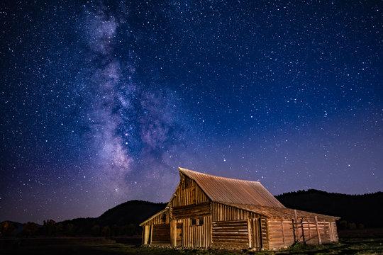 Milky Way Over Morman Row
