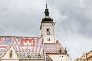 Saint Mark's Church, Zagreb, Croatia