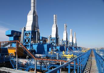 booster gaz compressor staition