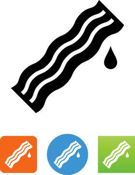 Bacon Icon - Illustration