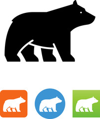 Bear Icon - Illustration
