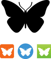 Butterfly Icon - Illustration