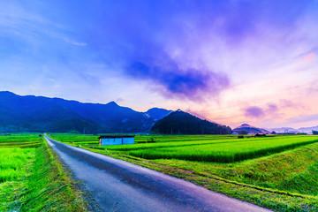 田園風景 田舎の景色