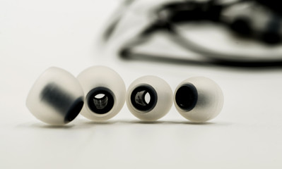 rubber details for earpieces