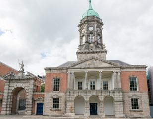 Travel in Ireland. Dublin, Castle