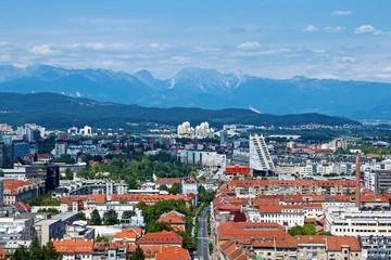 Ljubljana is the capital of Slovenia, Europe.