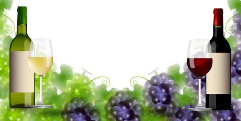 ワイン ぶどう 秋 背景