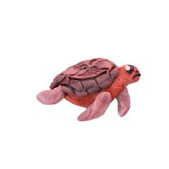 Plasticine  turtle  sculpture isolated