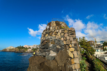 Die Hafenpromenade von Funchal auf der Insel Madeira