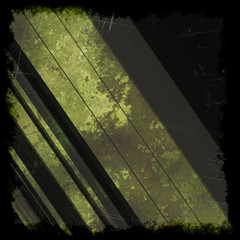 grunge texture design with stains and scratches background in brown green black colors