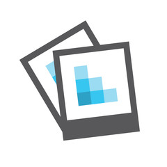 High or low res image icon - for UI or UX