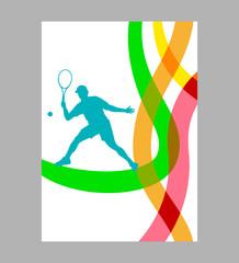 Tennis - 258 - Poster