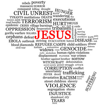 Hope for Africa Word Cloud