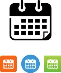 Calendar Icon - Illustration